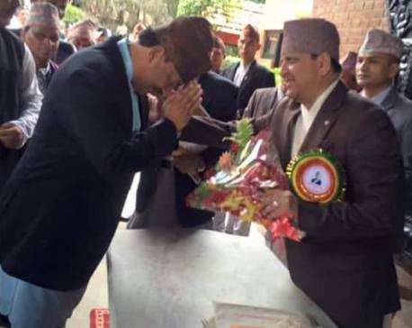 When DPM Thapa bowed down before Ex-King Gyanendra