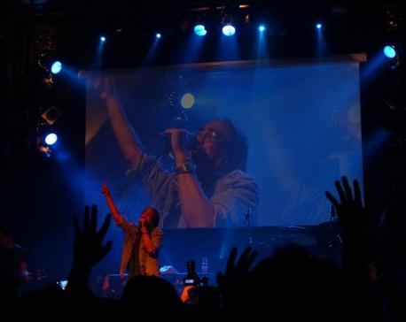 Nepathya performs in Hamburg
