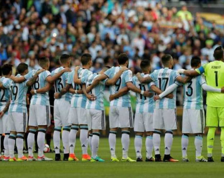 Argentina's Olympic football team robbed at Mexico hotel