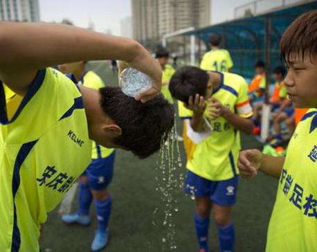 China's football revolution kicks into overdrive