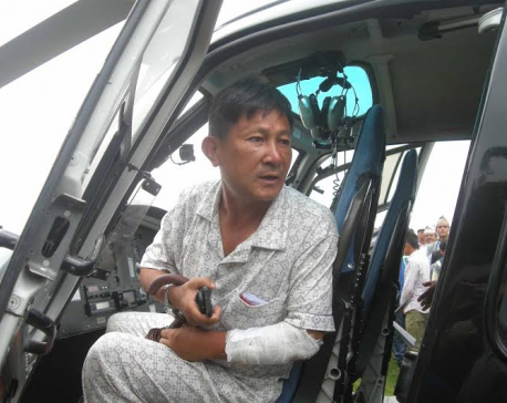 Ex-lawmaker injured in gang attack airlifted to Capital