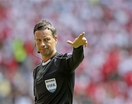 UEFA picks referee Clattenburg for France-Portugal final