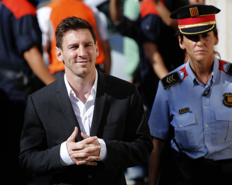 Messi given 21 months for tax fraud, won't go to prison