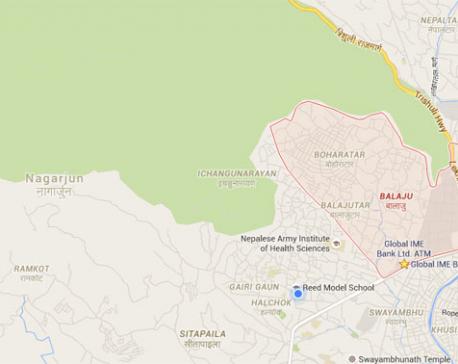 Truck-hit kills motorcyclist in Balaju