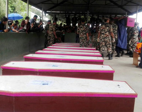 Coffins from Kabul bring tear to everyone at  TIA (with photo/video)