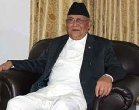 Withdrawal of constitution amendment motion is only way out: Oli