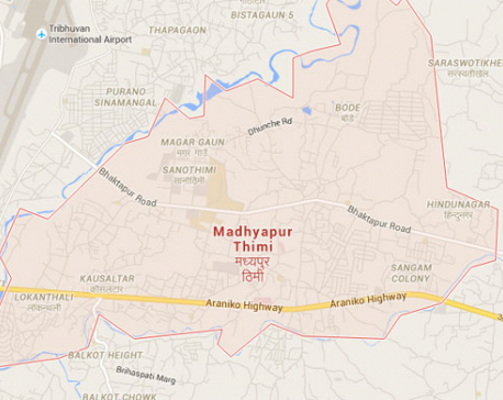 Pedestrian killed in Bhaktapur road accident