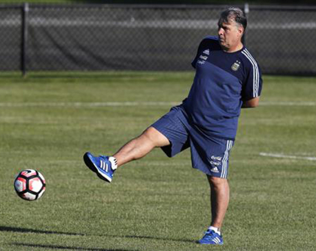 Martino steps down as Argentina national team coach