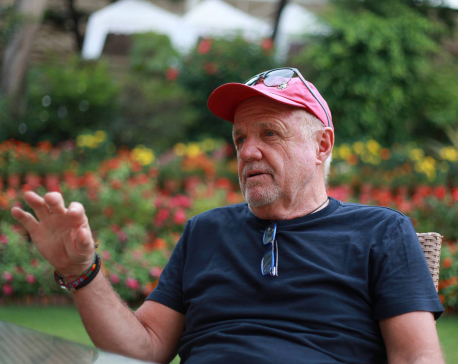 Austrian who takes Nepal as 'second home' lending hands to rebuild a remote village in Dolakha
