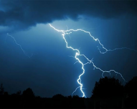 Lightning claims woman in Taplejung