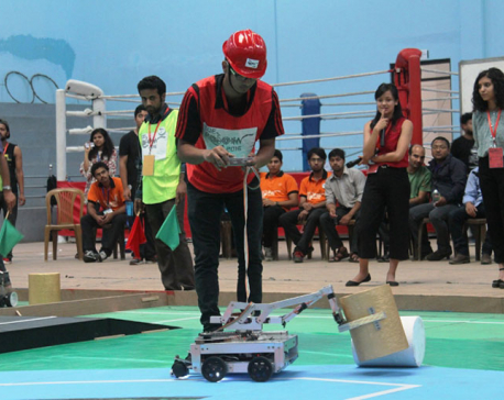 In pictures: When robots competed