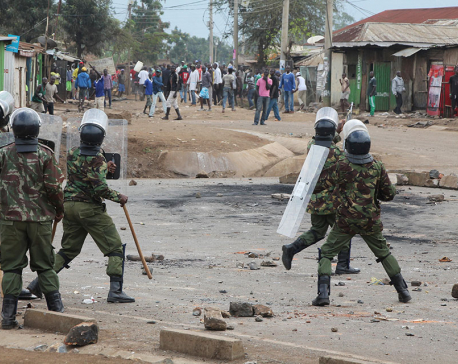 24 killed since Kenya vote: Human rights body
