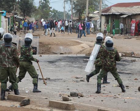 24 killed since Kenya vote: Human rights body