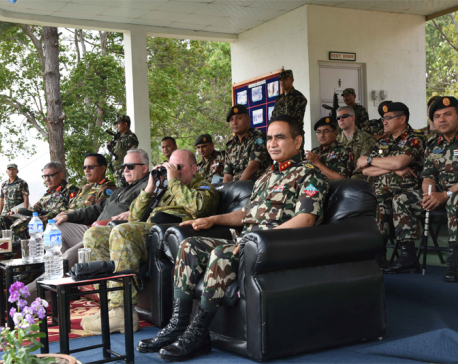 UN Peacekeeping Chief inspects military exercise
