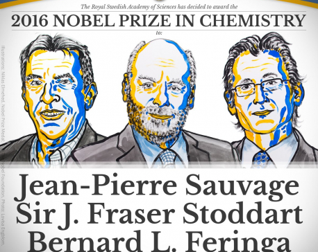 3 awarded Nobel chemistry prize for 'molecular machines'