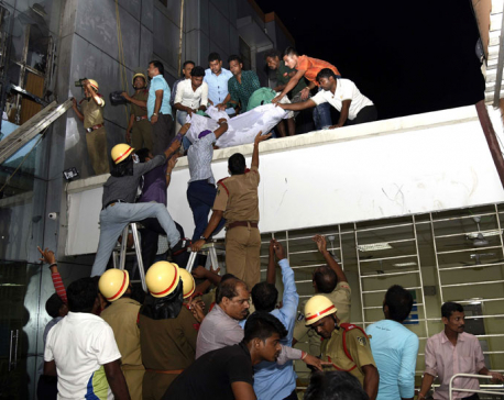 Twin fires kill at least 22 in India