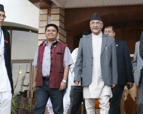 PM leaves top leaders, task force meeting