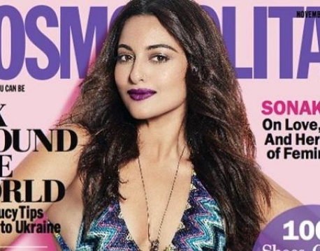 Sizzling Sonakshi Sinha slays in Cosmopolitan cover