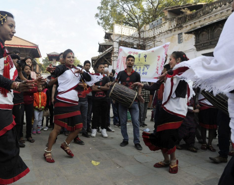 In Pictures: Nepal Sambat celebrations