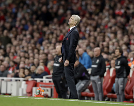 No birthday celebration for Wenger as Arsenal slips up