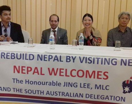 Aussie delegation terms Nepal a safe tourist destination