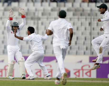 Bangladesh secures 1st win vs England with 108-run victory