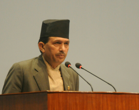 Karki created panic in all sectors: Dhakal (with video)