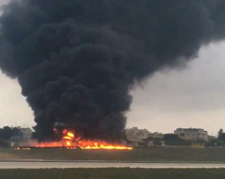 4 killed in crash of air-ambulance flight