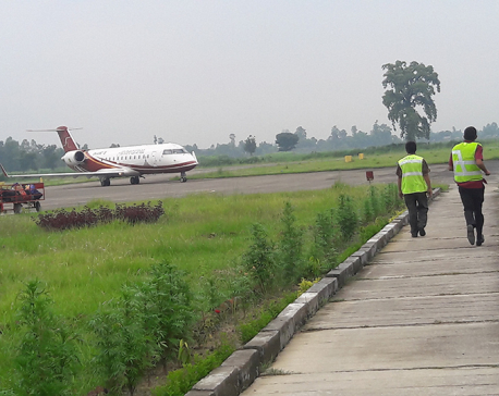 Lack of parking space troubles Dhangadhi Airport