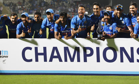 New Zealand collapses to 79 all out as India wins ODI series