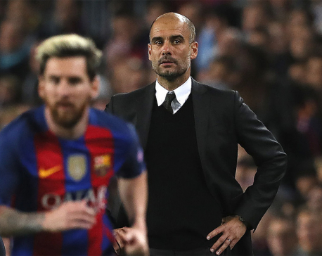 Messi says coach Guardiola will change Man City for the better
