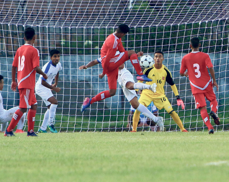 Nepal, India settle for draw