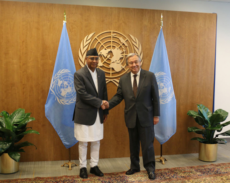 UN Secretary-General Guteress lauds Nepal's elections