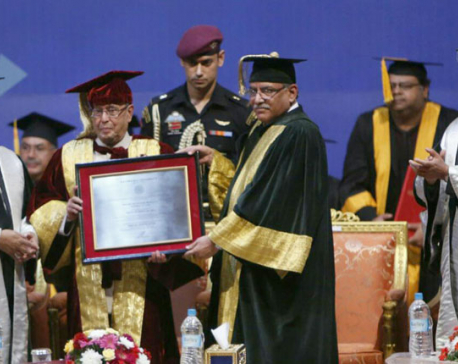 PM Dahal describes Mukherjee as Asia's supreme leader