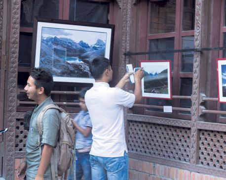 Dawa's photo exhibit promotes Nepal's beauty