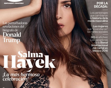 Salma Hayek sizzles in GQ cover shoot