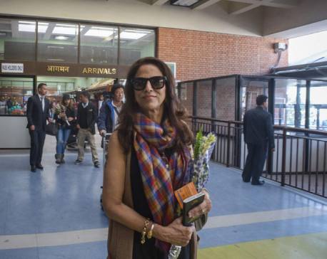 Indian columnist De arrives in KTM to attend media and entrepreneurship convention
