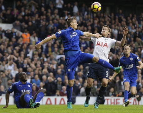 Tottenham remains unbeaten in EPL but held by Leicester
