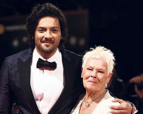 """Ali Fazal attends """"Victoria and Abdul' world premiere with Judi Dench"""