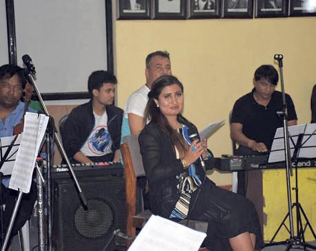 Anju Panta's solo musical concert