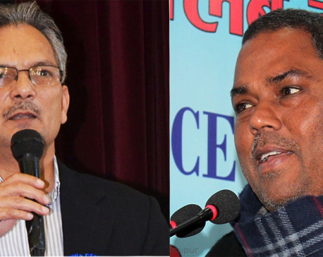 Bhattarai, Yadav urge to postpone local polls