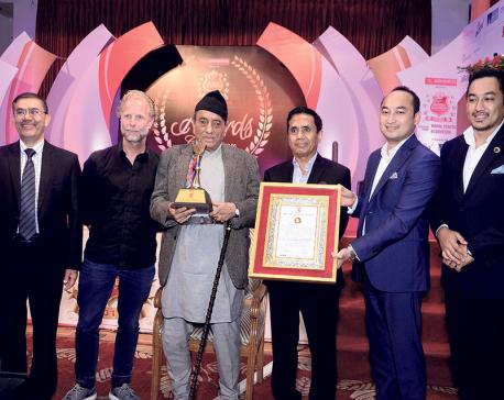 Chairman of Panchakanya Group receives Lifetime Achievement Award
