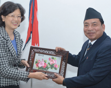 Nepal committed to 'One China' policy, VP Pun tells Chinese envoy