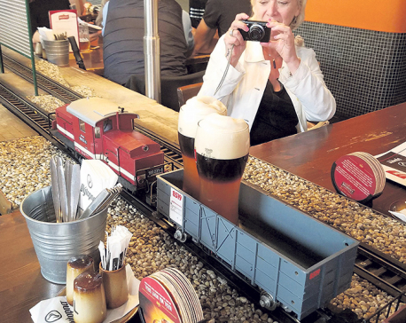Czech 'beer train' concept coming to USA and China