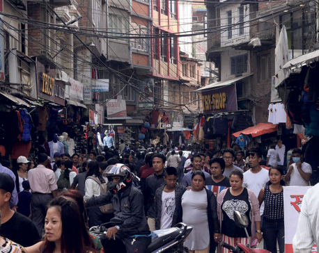 Dashain Fervor  Crowded Market places V/S Shoppers