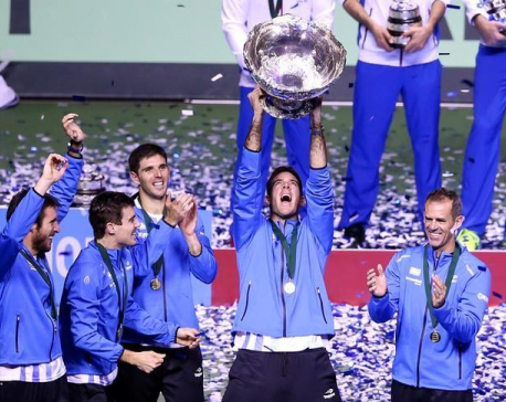 Argentina beat Croatia to clinch maiden Davis Cup title