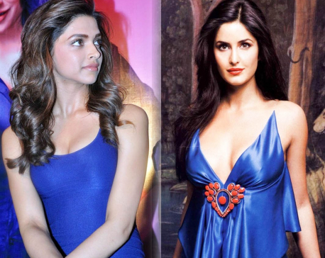 Katrina avoids Deepika at the Lux Golden Rose Awards!