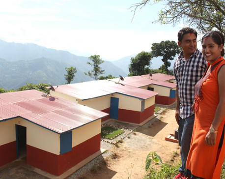 Dhurmus-Suntali model settlement handover on Friday