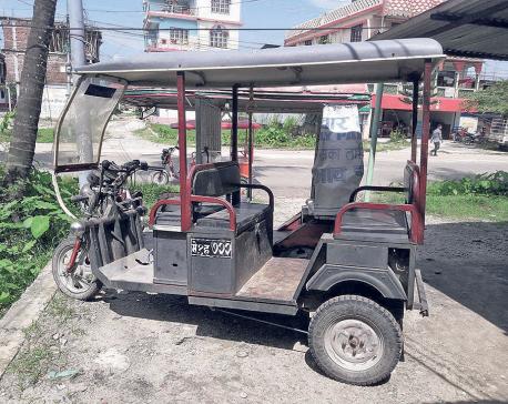 e-Rickshaws on verge of displacement in Jhapa