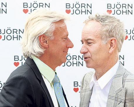 Film on rivalry of tennis greats Borg and McEnroe premiers in Stockholm